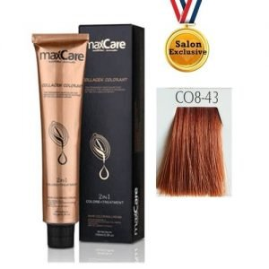 MAXCARE COLLAGEN 2in1 COLOR 100ml - CO8-43