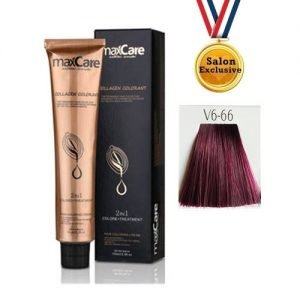 MAXCARE COLLAGEN 2in1 COLOR 100ml - V6-66